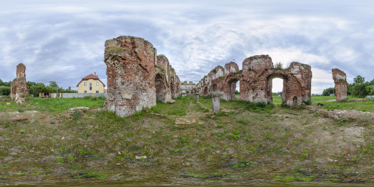 Руины замка Брандербург - Хозяйственные постройки