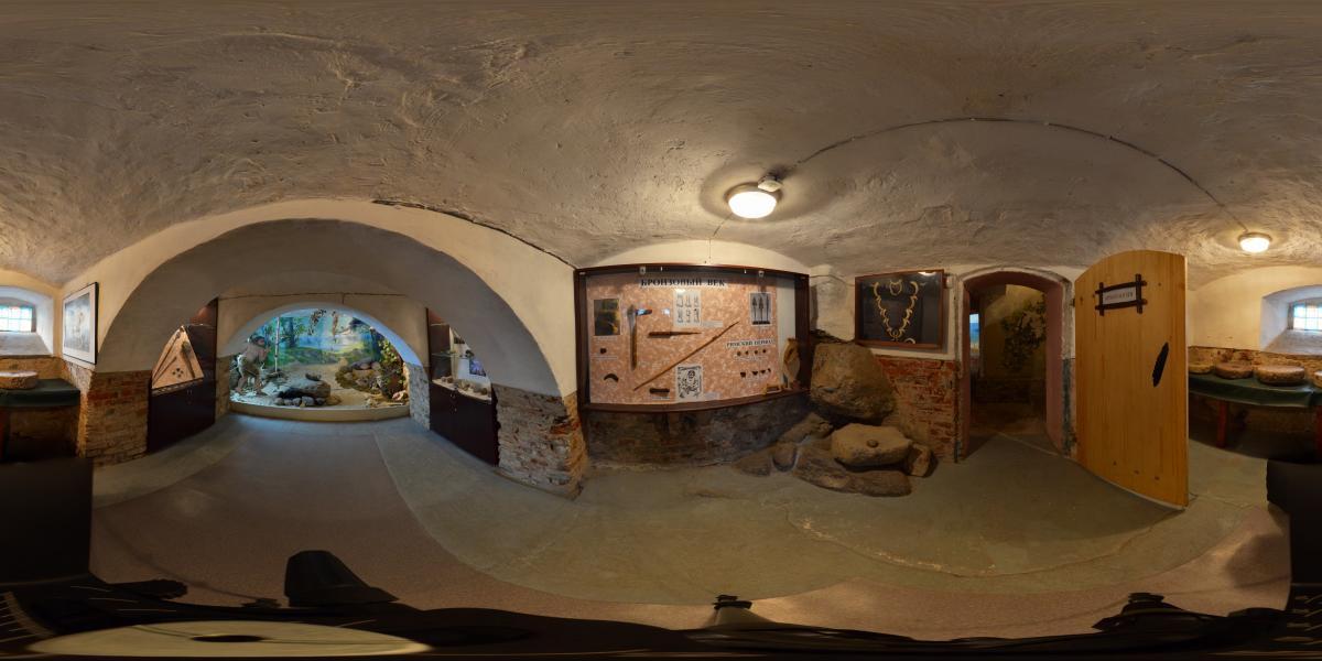 Замок Вальдау. Waldau castle - Археологическая экспозиция