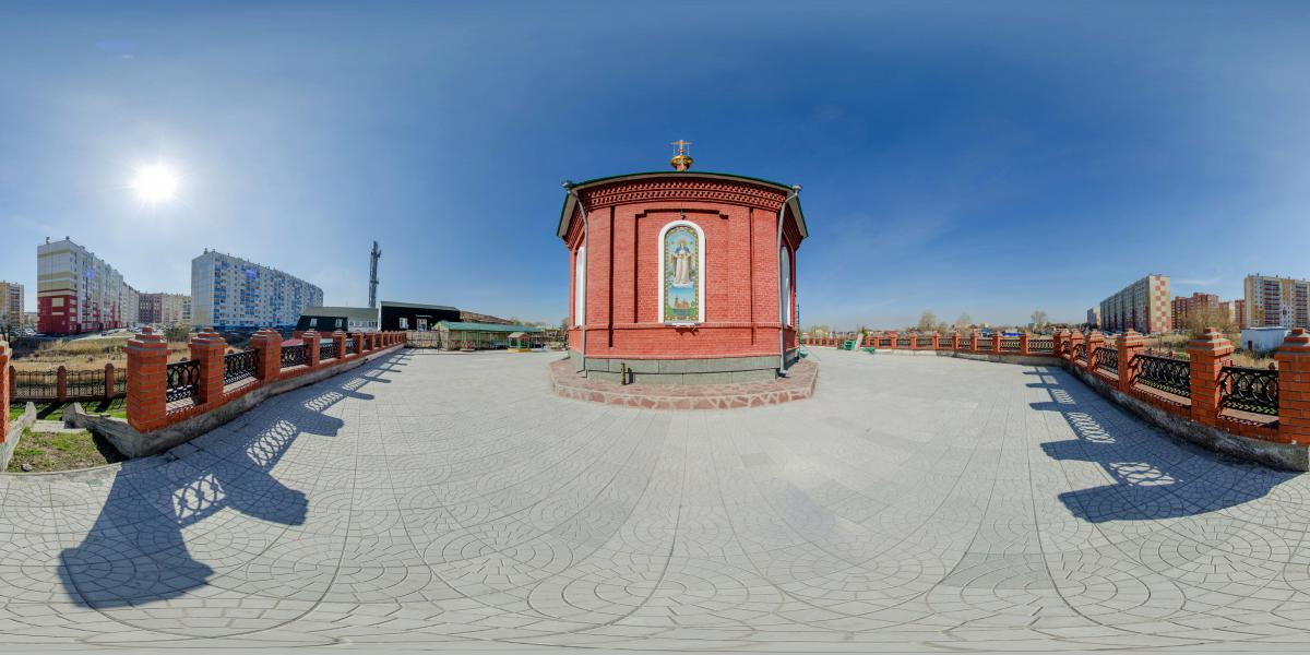 Копейск - Церковь с зади
