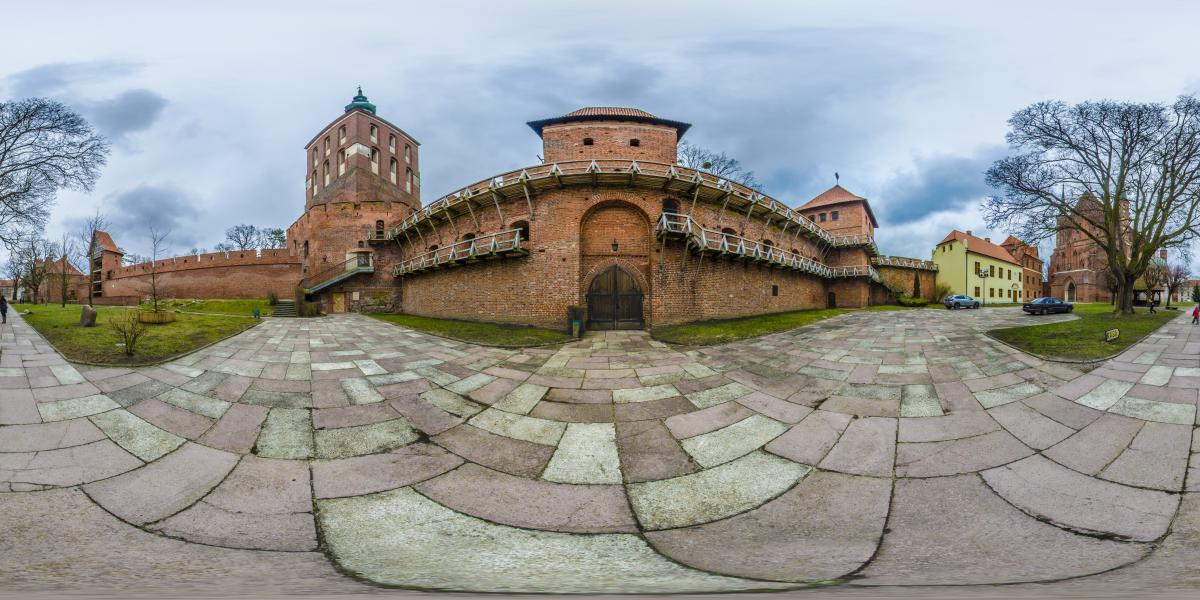 Замок Фромборк | Польша - Вид на башню Коперника