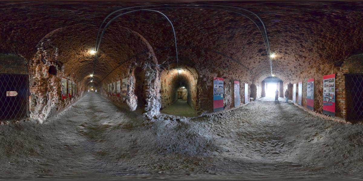 Форт №5 - Туннель
