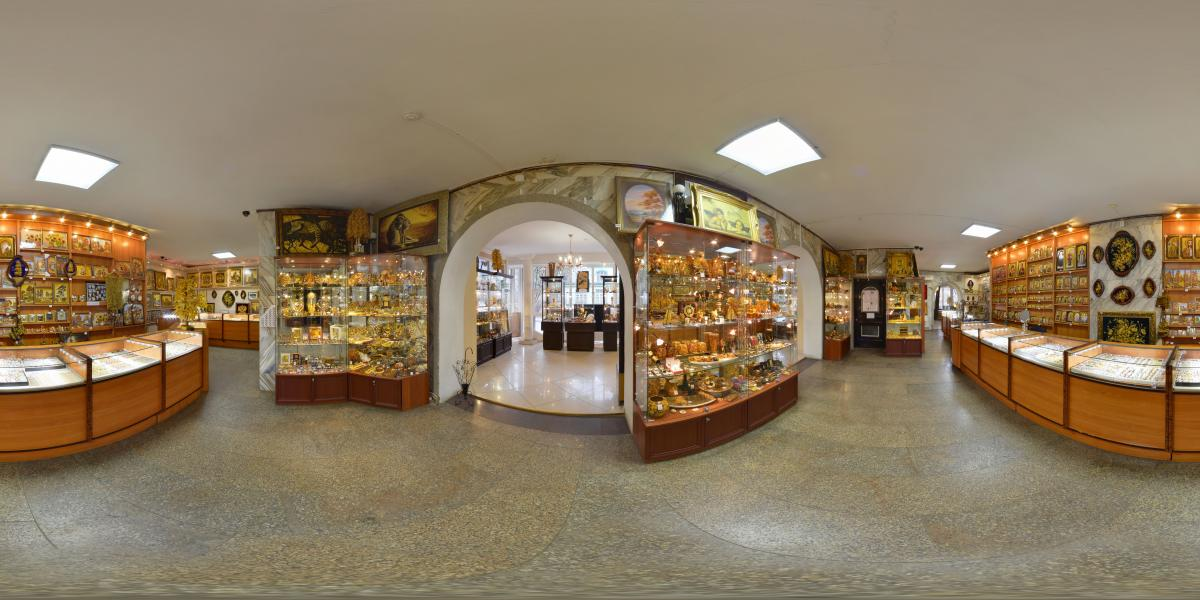 Русский янтарь - Главный зал