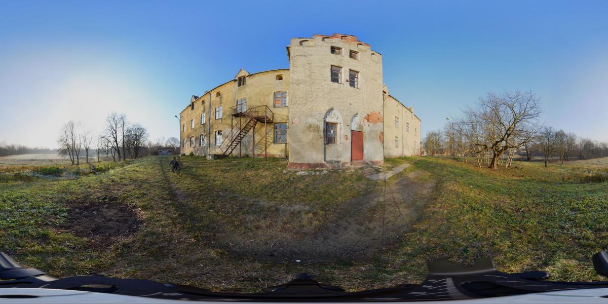 Замок Вальдау. Waldau castle - Юговосточная сторона