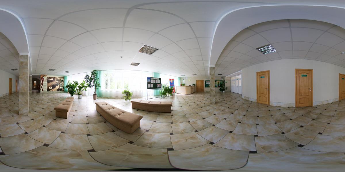 Гимназия №1 г. Лида - 1 этаж - фойе