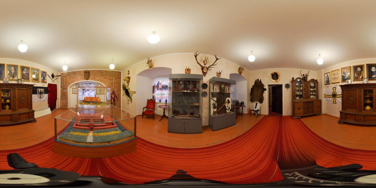 Замок Вальдау. Waldau castle - История, макеты