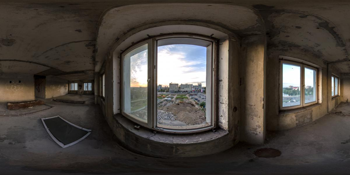 Дом советов - Зал с видом на Плазу