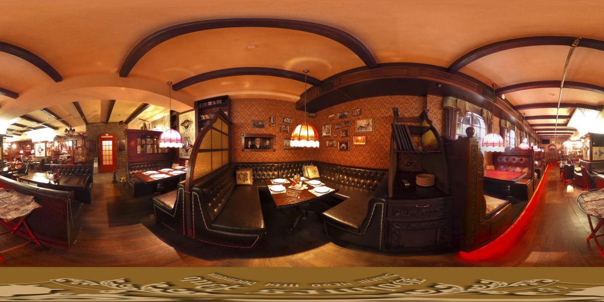 Holmes Pub  - Зал - угловые столы